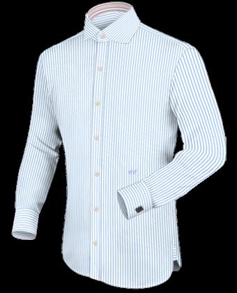 Bunte Herrenhemden with English Collar