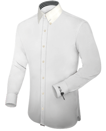 Die��schneider Hemden with Hidden Button