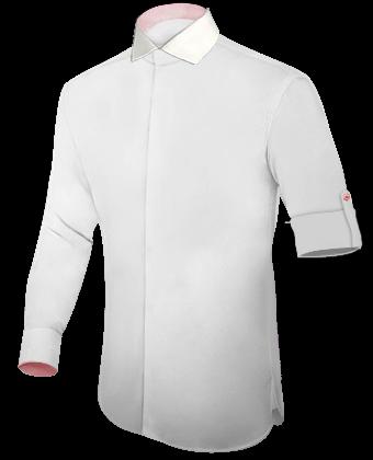 Doppelkragen Hemden with Italian Collar 1 Button