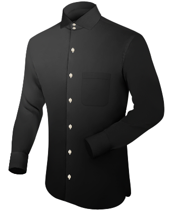 Edelweisshemd with Italian Collar 2 Button