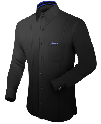 Eigenes Hemd with French Collar 2 Button