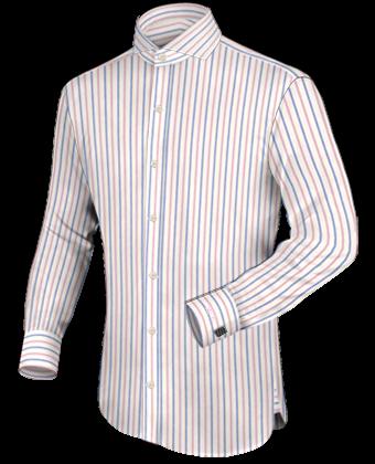 Englische Hemdend with Cut Away 1 Button