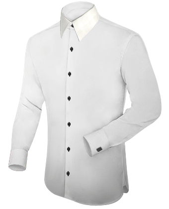 Exklusive Ma��konfektion Berlin with French Collar 1 Button