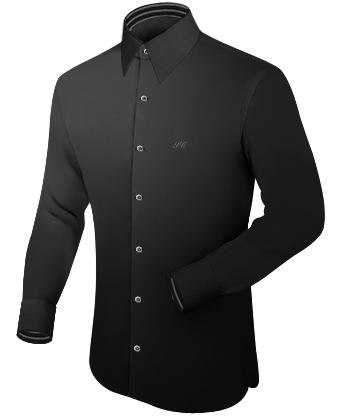 Gr���e 47 48 Hemd with French Collar 1 Button