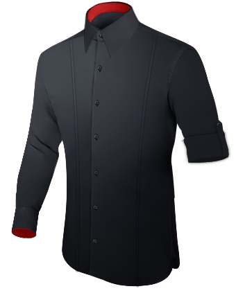 G�nstige Ma��hemden with French Collar 1 Button