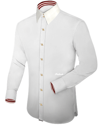 Die Hemden with French Collar 2 Button