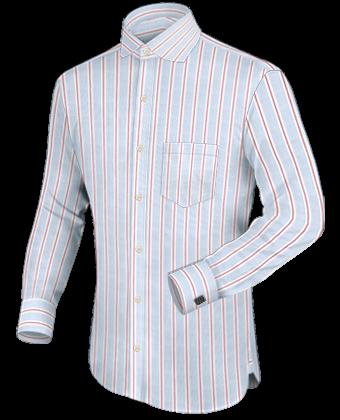 Hemd 3 ärml�nge with English Collar