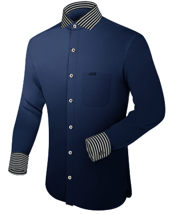 Hemd Anfertigen Lassen with Italian Collar 1 Button
