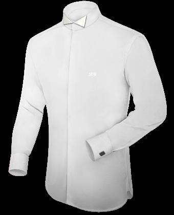 Hemd Button Down Kragen with Tuxedo