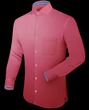 Hemd Designen with Italian Collar 2 Button