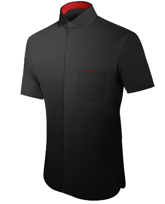 Hemd Extra Lange ärmel with Italian Collar 1 Button