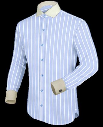 Fabrikverkauf Hemden with Italian Collar 2 Button