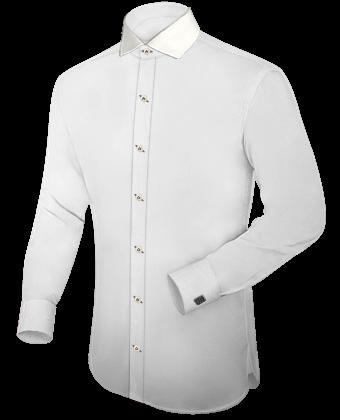 G�nstige Klamotten with Italian Collar 1 Button