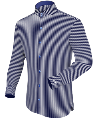 Hemd Slim Fit Umschlagmanschette with Cut Away 2 Button