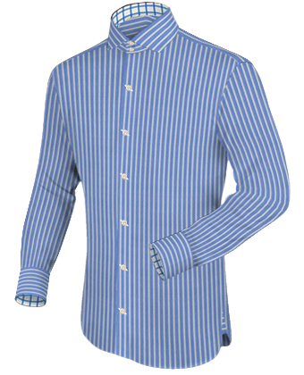 Hemd Selbst with Italian Collar 2 Button