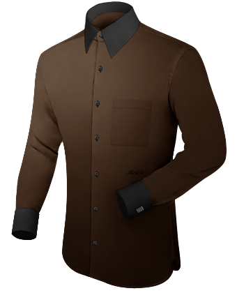 Hemd Tailor with French Collar 1 Button