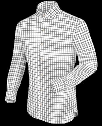 Hemd Terracotta with English Collar
