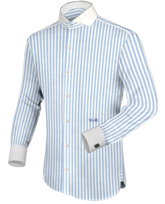 Hemd Wei�� 41 with Cut Away 2 Button