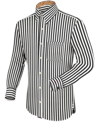 Hemd Weisser Kragen with French Collar 2 Button