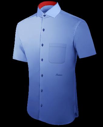 Hemde Nach Mass with Italian Collar 1 Button