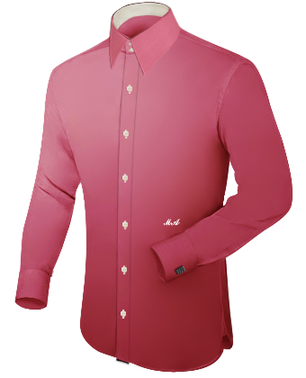 Hemde De with French Collar 2 Button