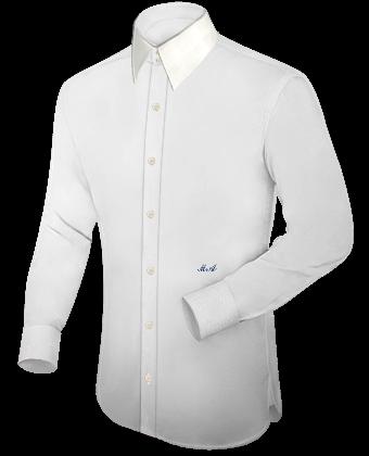 Hemde Schneidern with French Collar 2 Button