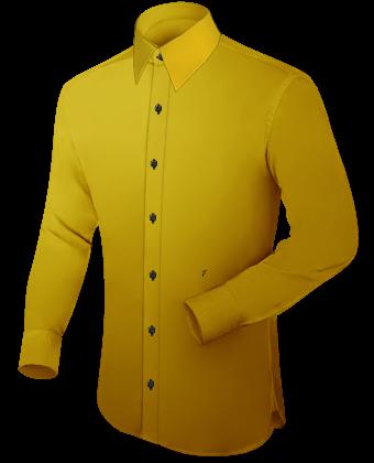 Hemden 68cm with French Collar 1 Button