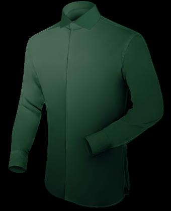 Hemden Hoher Kragen with Italian Collar 1 Button