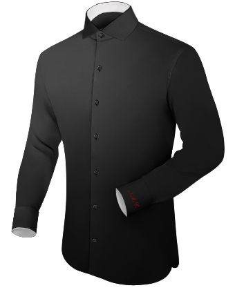 Hemden Versand with Italian Collar 1 Button