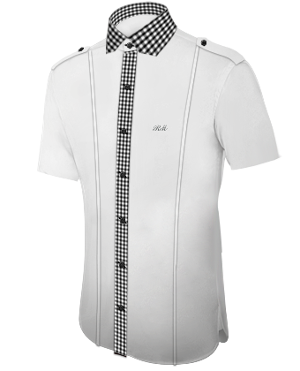 Hemden F�r T�nzer with Modern Collar