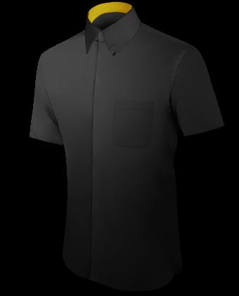 Hemden Geschneidert with Hidden Button