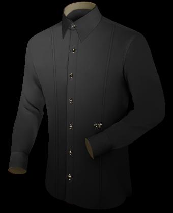Hemden Initialen with French Collar 1 Button