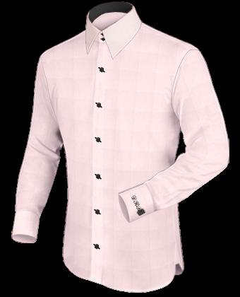 Hemden Online Mass with French Collar 2 Button
