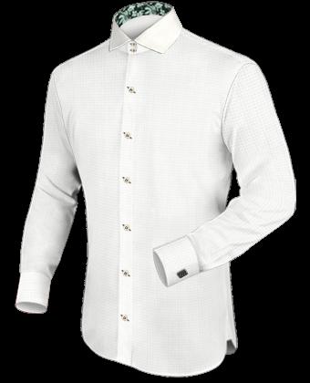 Hemden Nach Mass Online with Italian Collar 2 Button
