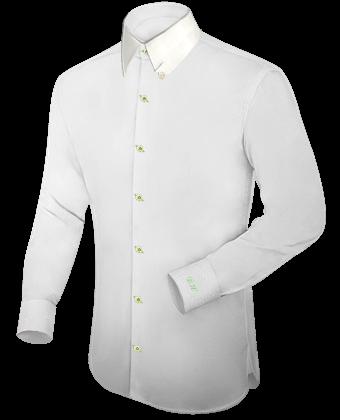 Hemden Online Selbst Design with Hidden Button