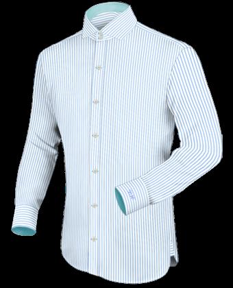 Hemden Retro with Italian Collar 2 Button