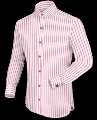 Hemdengr���e Amerikanisch with English Collar