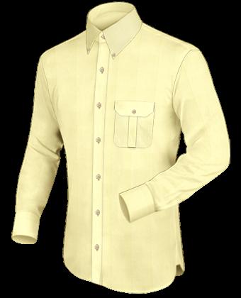 Designer Herrenhemden with Button Down