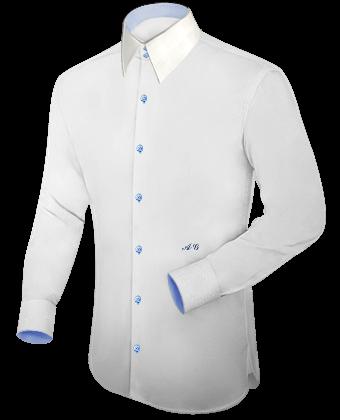 Hemden Selbst Kreieren with French Collar 2 Button