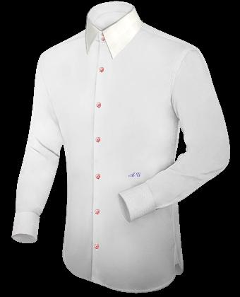 Hemden Slim Line with French Collar 2 Button