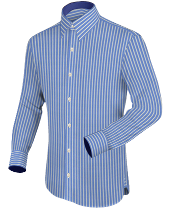 Hemdendetails with French Collar 1 Button