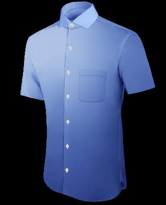 Hemdenschneider Online with Italian Collar 1 Button