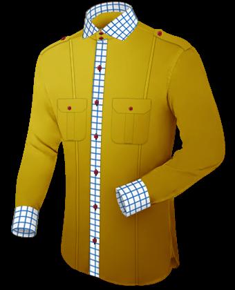 Herren Hemden Auf Mass Preise with Italian Collar 2 Button