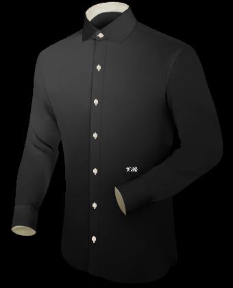 Herren Hemden Slim Line with Modern Collar