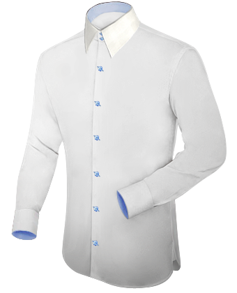 Herrenhemden Business with French Collar 2 Button