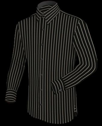Herrenhemden Manschetten with French Collar 1 Button