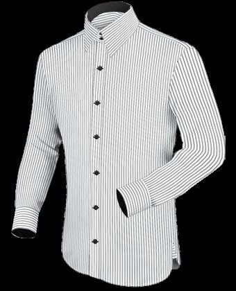 Herrenhemden Selbst with French Collar 2 Button