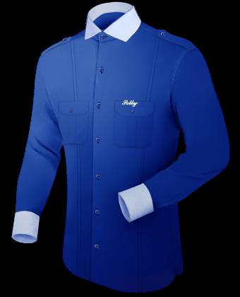 Herrenmode Nach Ma�� with Italian Collar 1 Button