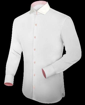 Hoher Kragen Hemd with Italian Collar 2 Button