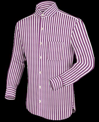 Kleidung Nach Ma�� Online with Italian Collar 1 Button